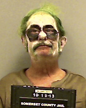 The Joker Arrested