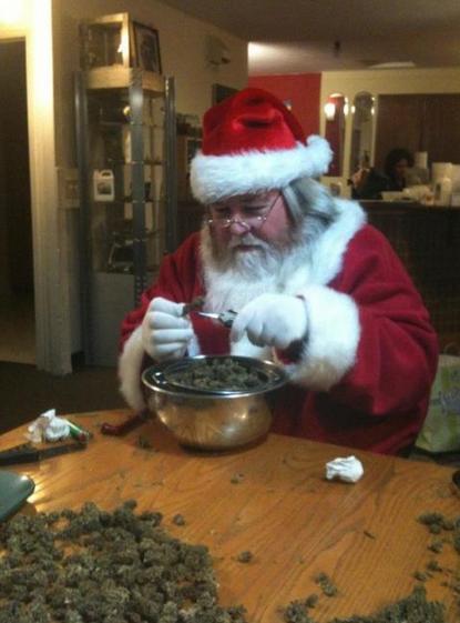santa claus weed